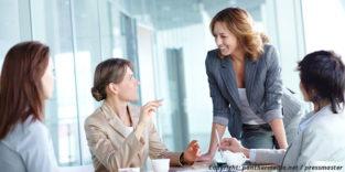 Wie Frauen mit Karriereambitionen auf sich aufmerksam machen