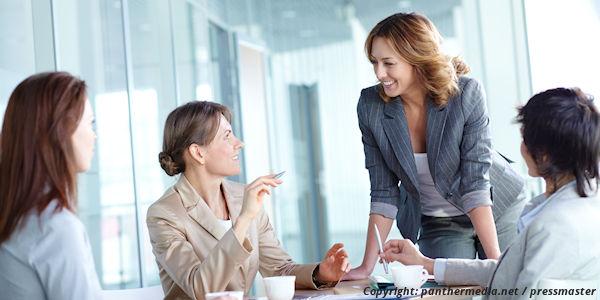 Meeting mit Frauen
