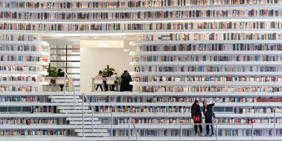 Bibliothek des niederländischen Architekturbüros MVRDV