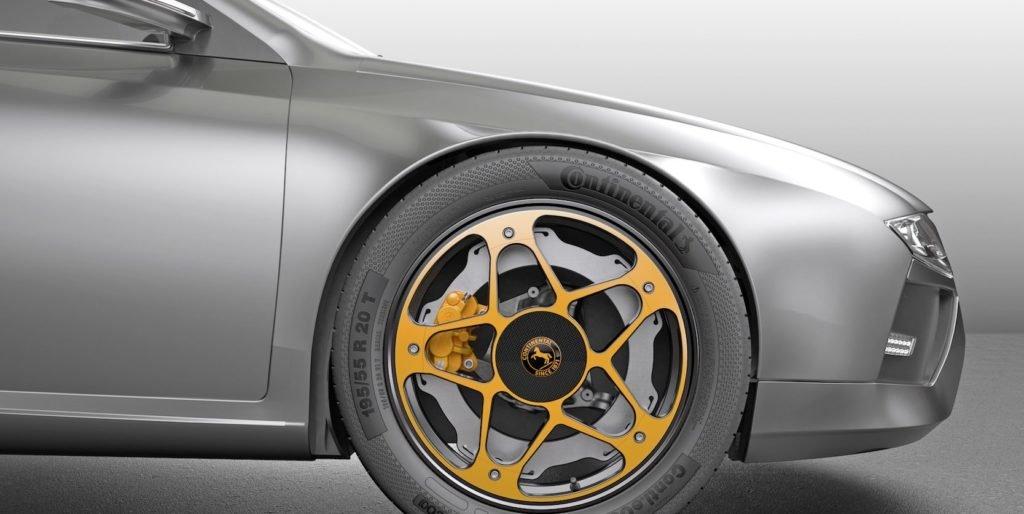 Continental hat ein Rad speziell für Elektroautos entwickelt