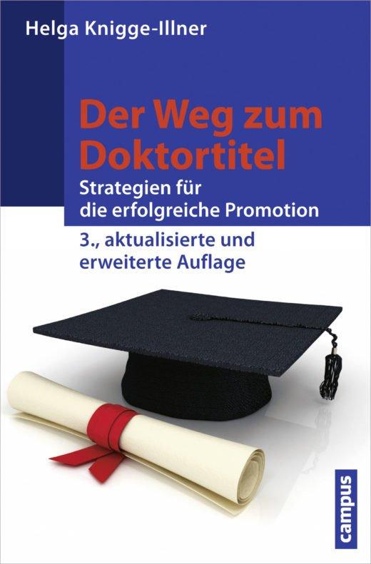 Buchcover Der Weg zum Doktortitel