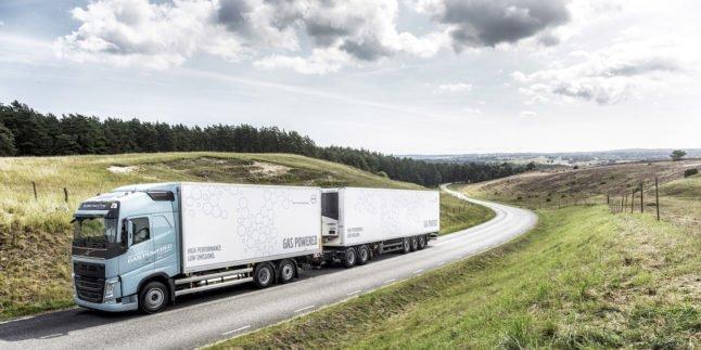 Volvo Truck mit Gasantrieb