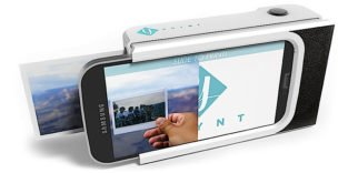 Das Pryntcase macht Smartphones zur Polaroid Kamera