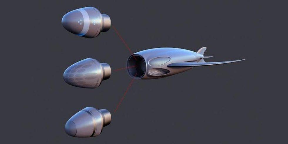Royal Navy träumt von U-Booten, die aussehen wie ein Rochen