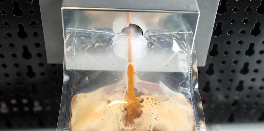 Kaffeemaschine für die ISS