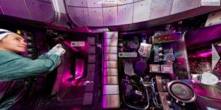 Plasmakammer im Fusionsreaktor Wendelstein 7 X