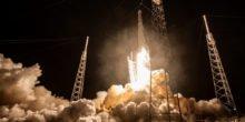 Start einer SpaceX Rakete