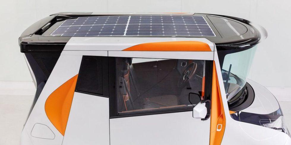 Hyperflexibles Elektroauto will mehr Büro als Fahrzeug sein