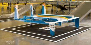 Amazon erhält Patent für Drohne, die sich selbst zerstören kann