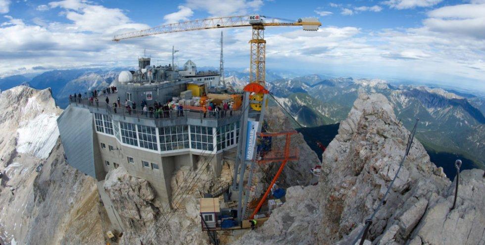 Die Seilbahn der Superlative auf die Zugspitze geht in Betrieb