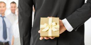 Geschenke: In der Grauzone zur Bestechung