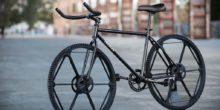 Fahrrad mit den zwei Revolve Wheels