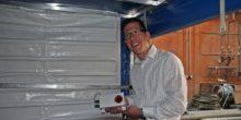 Ingenieurstudent baut Alarmsysteme für LKW-Planen