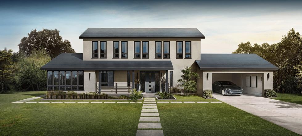 Tesla hat mit Serienproduktion der Solarziegel begonnen