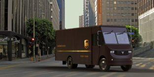 Elektrischer Lastkraftwagen für die regionale Distribution