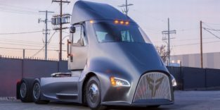 Der elektrische Lkw ET-One von Thor Trucks