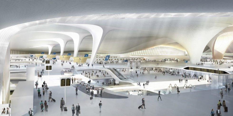 Pekings Giga-Flughafen Beijing Daxing Airport feiert Eröffnung
