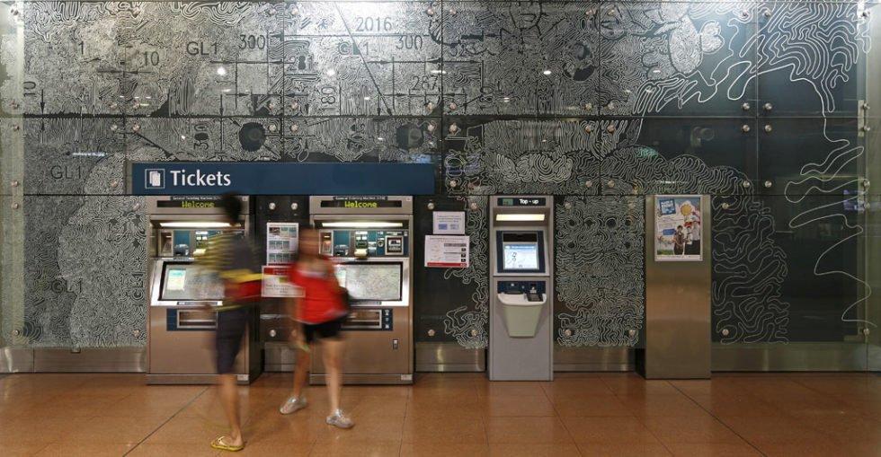 U-Bahn-Station in Singapur: Die Stadt setzt seit Jahren auf die Förderung von Bussen und Bahnen. Der Autoverkehr wird stark reglementiert.