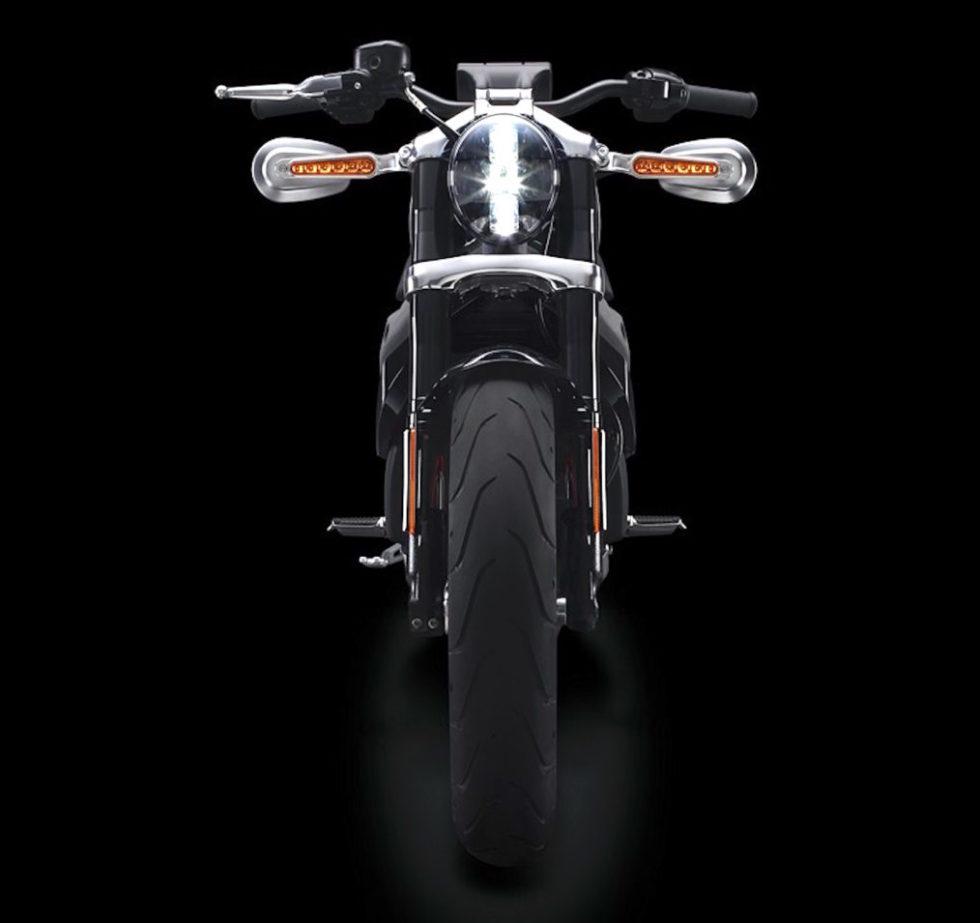 Impression der LiveWire von Harley Davidson.