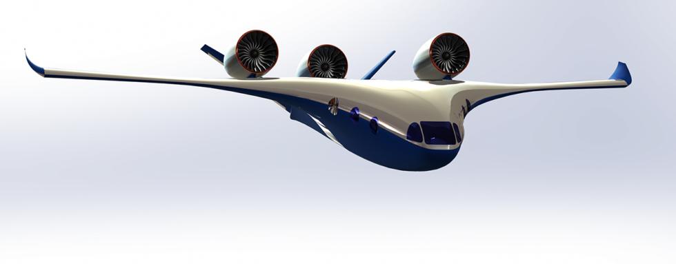 Dieses Flugzeug ist wie ein Bus, der fliegen kann