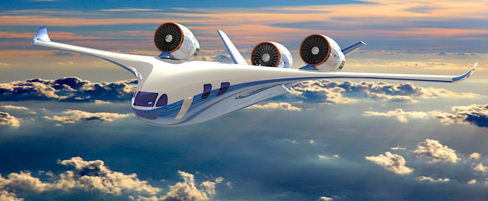 Der Starling Jet startet rund fliegt in der Stadt ein elektrisch, außerhalb wird ein Diesel-getriebenes Turbofan-Triebwerk zugeschaltet.
