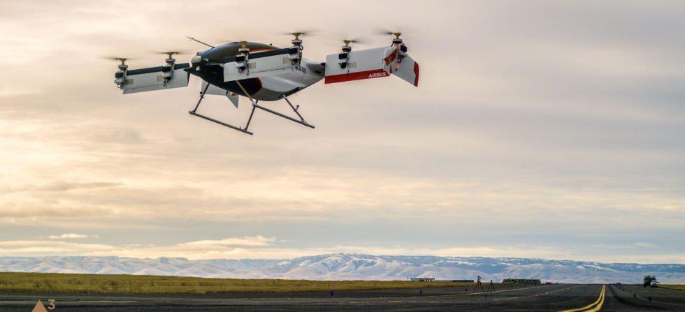 Airbus hat sein elektrisches Lufttaxi erfolgreich getestet