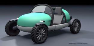 Ohne Witz: Das ist ein Auto zum Aufblasen