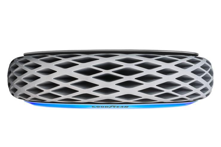 In diesem Reifen von Goodyear wächst Moos, um die Luft zu verbessern