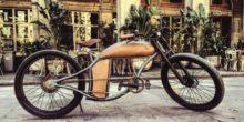 Ein E-Bike, das aussieht wie eine Harley