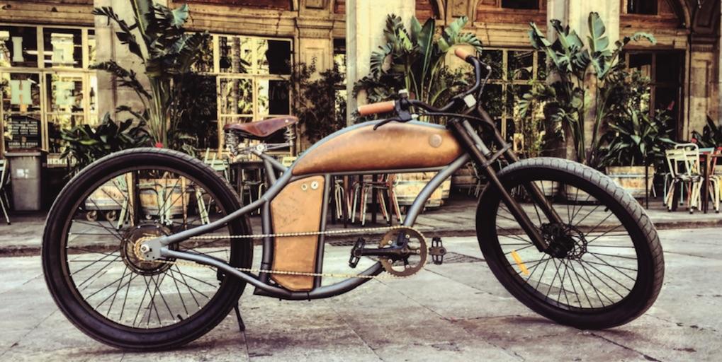 ein e bike das aussieht wie eine harley. Black Bedroom Furniture Sets. Home Design Ideas