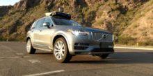 Uber-Robotertaxi von Volvo