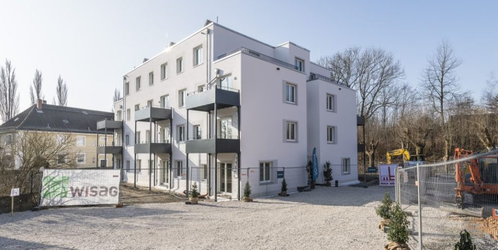 Dieses Mehrfamilienhaus wurde in 4 Monaten gebaut