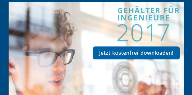 Flyer zur Gehaltsstudie 2018