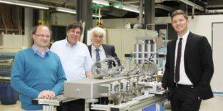 Die Gründer der FAU-Ausgründung Hydrogenious Technologies GmbH