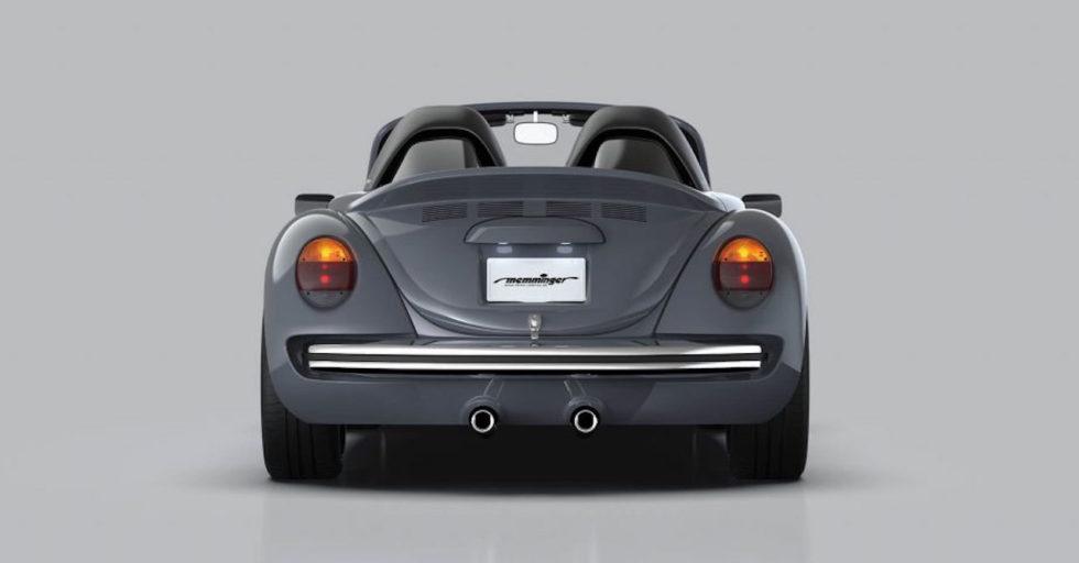 So wird der VW Käfer zum offenen Sportwagen