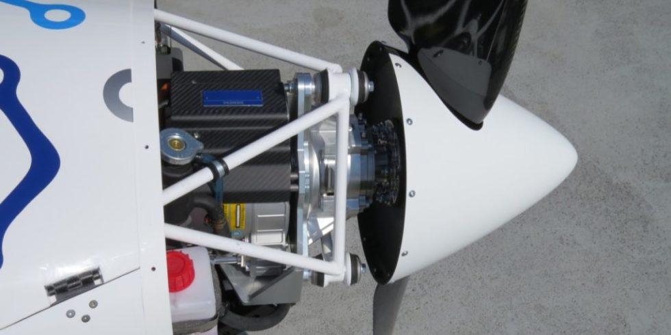 Sun Flyer 2 Elektromotor