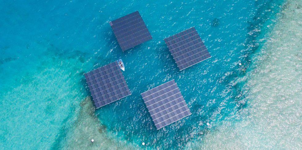 Österreicher bauen schwimmende Solarinseln für die Malediven