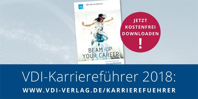 VDI-Karriereführer jetzt kostenfrei downloaden!