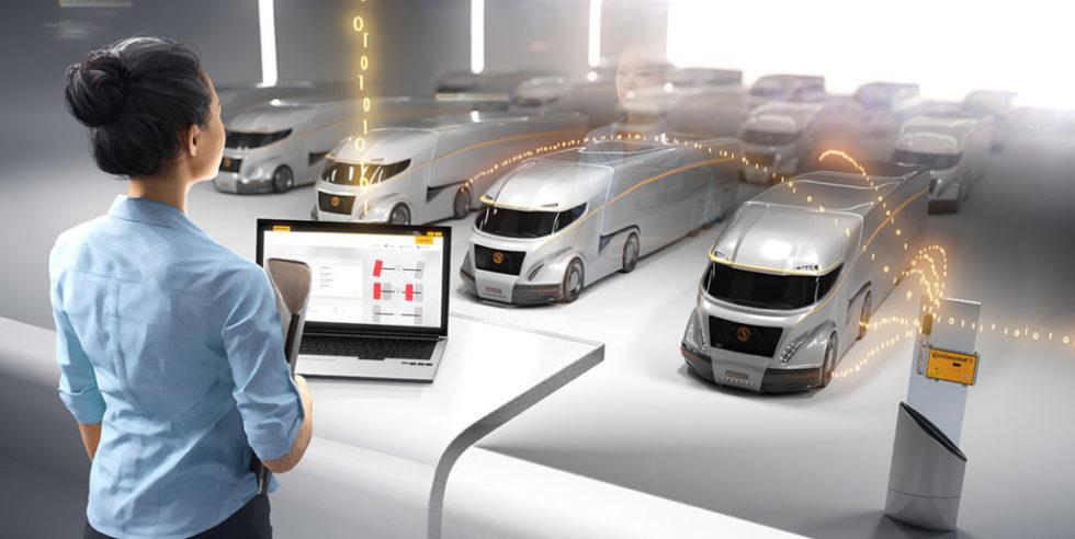 Der Automobilzulieferer Continental startet eine Reifenplattform zur Fernüberwachung: Sensoren in den Reifen melden laufend den Zustand der Reifen. Das Internet der Dinge entwickelt sich aktuell immer schneller und ist eines der zentralen Themen der Hannover Messe.