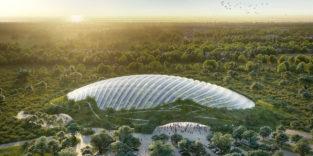 Tropicalia: Eines der größten Tropenhäuser der Welt entsteht in Nordfrankreich