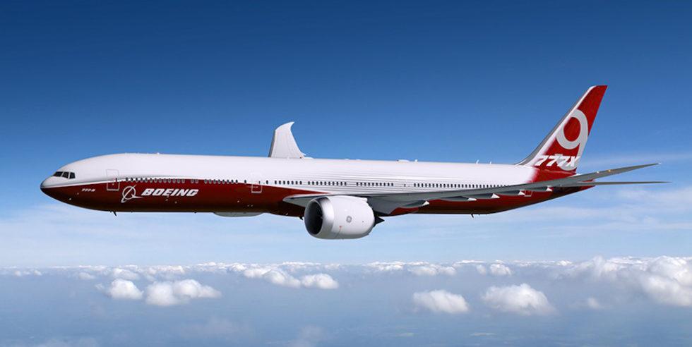 Boeing hat von der amerikanischen Zivilflugzeugbehörde FAA die Genehmigung erhalten, sein neues Flugzeug Boeing 777X mit klappbaren Tragflächen auszustatten.
