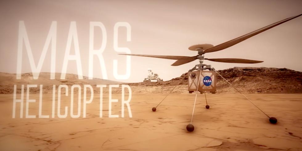 Der Mars Helicopter wird im März 2021 auf dem Roten Planeten ankommen. Dann startet eine 30-tägige Flugtestkampagne.