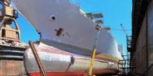 Eine Luftfolie senkt den Treibstoffverbrauch von Schiffen um 25 %