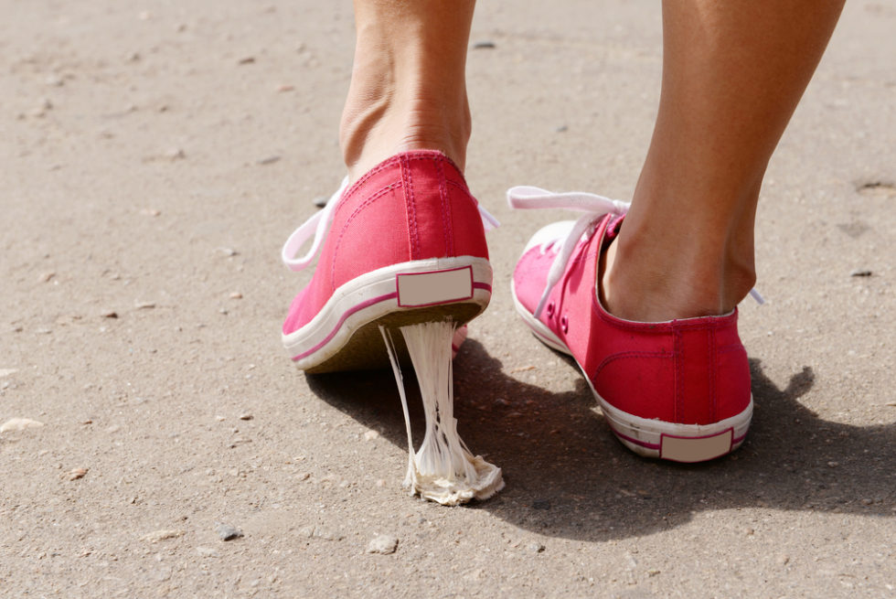 Modebewusster Umweltschutz: Sneaker mit Kaugummi-Sohle