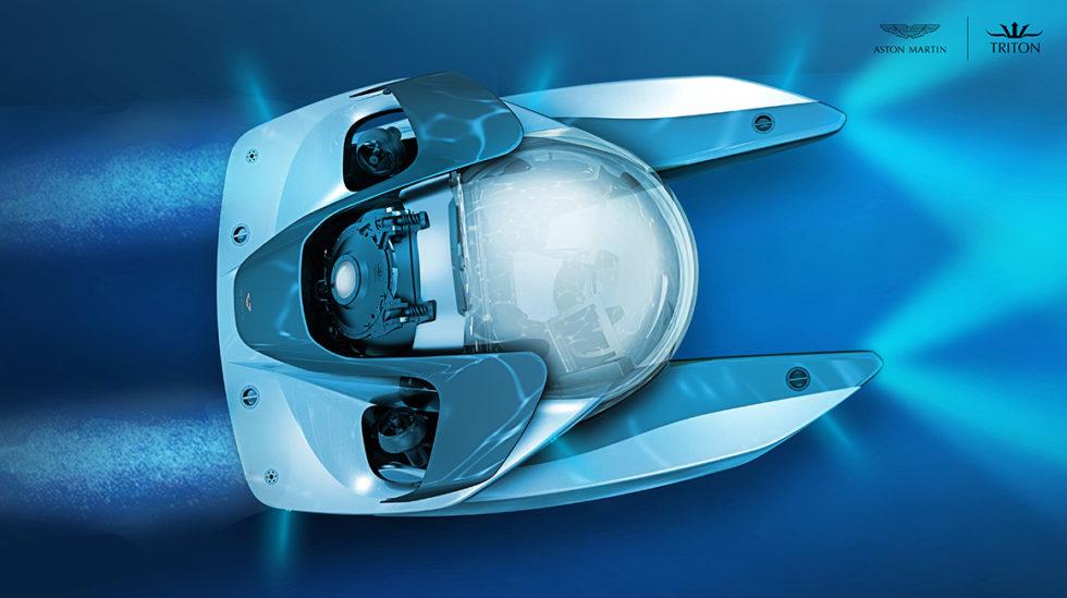 Das ist der Aston Martin für die Fahrt unter Wasser