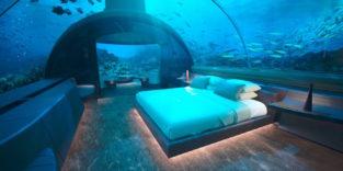 Mukara ist die erste Villa unter Wasser