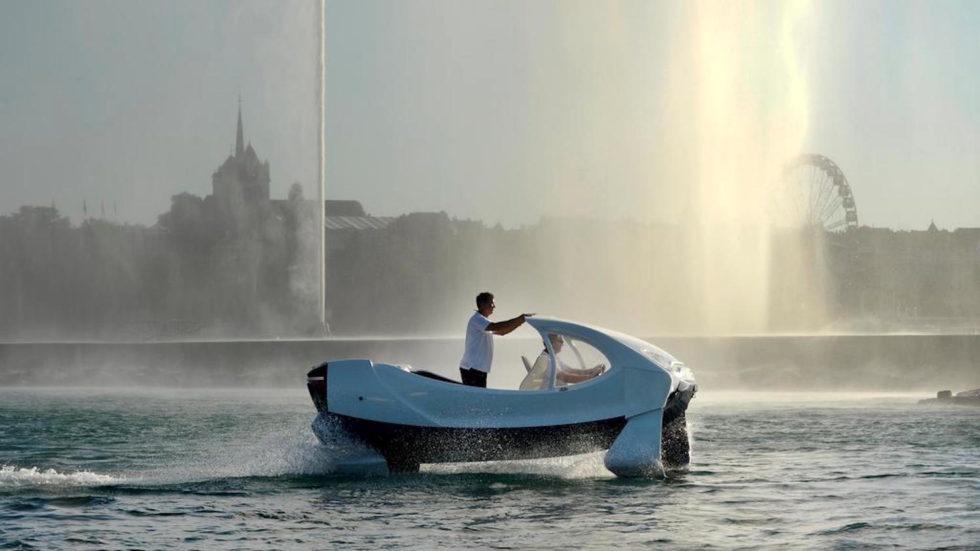 Wassertaxis schweben über Genfer See – und bald über Elbe und Rhein?