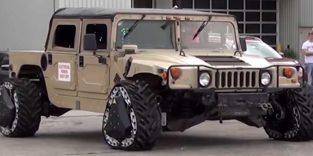 US Army testet dreieckige Räder