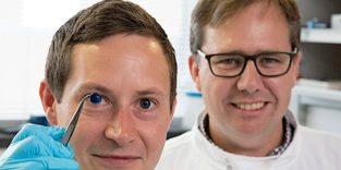 Erste menschliche Hornhaut aus dem 3D-Drucker