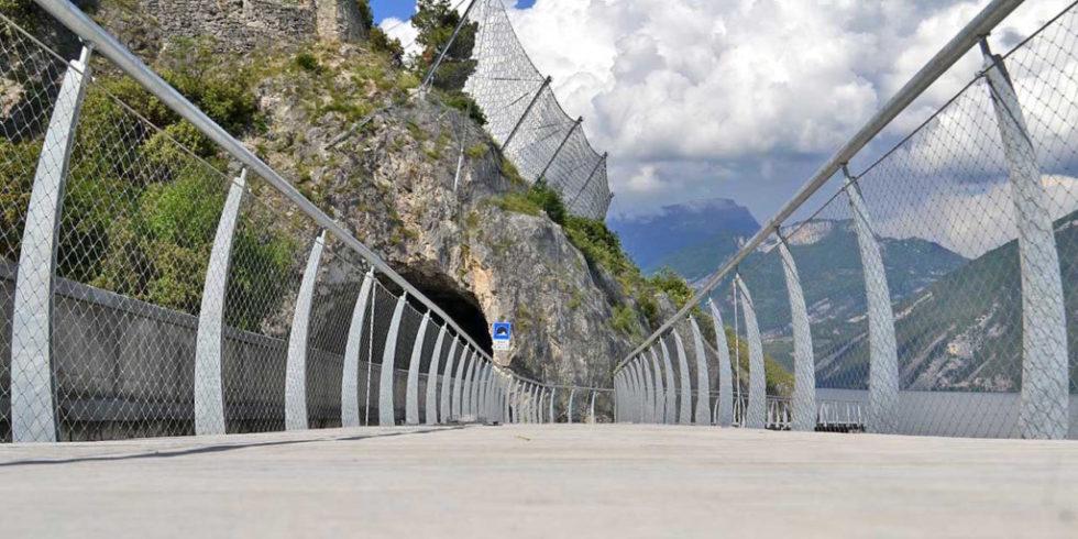 Am Gardasee entsteht einer der spektakulärsten Radwege Europas